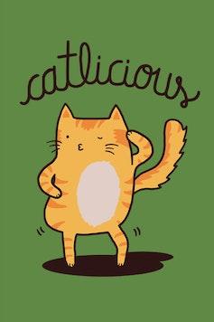 Estampa Camiseta Catlicious