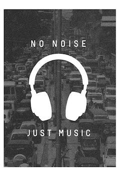 Estampa Camiseta Noise