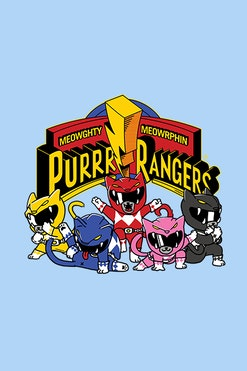 Camiseta Purr Rangers R$74,90 | 4x de R$18,73