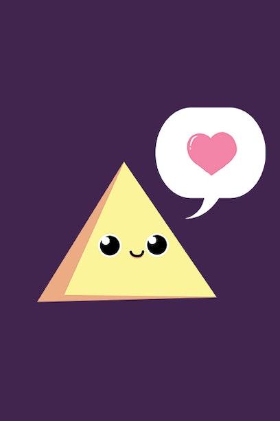 Camiseta Triângulo Amoroso