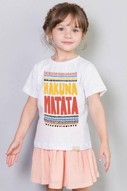 Camiseta Infantil Hakuna Matata