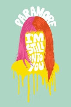 Estampa Camiseta Paramore