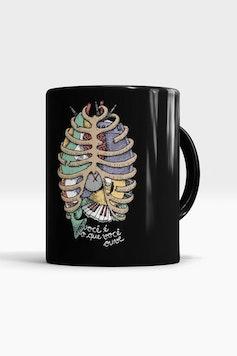 Caneca Anatomia Sonora