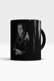 Caneca Mona Lisa Addams