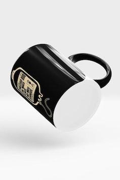 Estampa Caneca Bolsa de Café