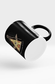 Estampa Caneca Society of Pizza Eaters