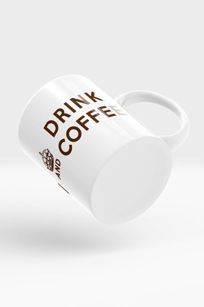 Caneca Keep Calm and Drink Coffee