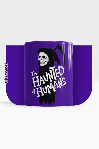 Caneca Haunted By Humans