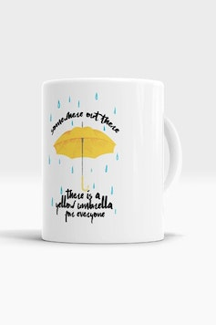 Caneca Yellow Umbrella