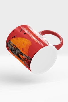 Estampa Caneca Red Dead