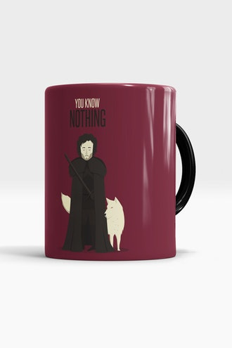 Caneca You Know Nothing