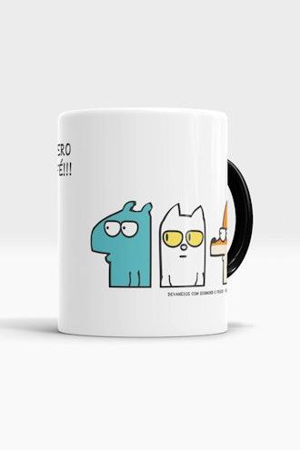 Caneca Quero Café