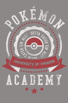 Estampa Capa Pokémon University