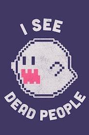 Estampa Capa I See Dead People