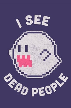 Estampa Capa I See Dead People