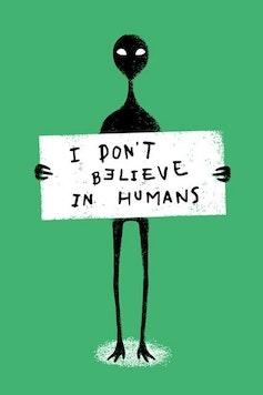 Estampa Capa Humans