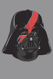 Estampa Capa Darth Bowie