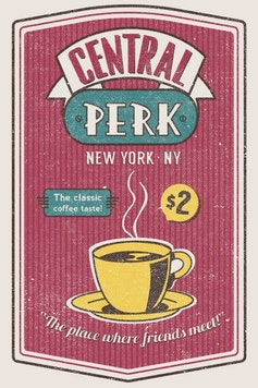 Estampa Capa Central Perk
