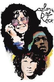 Estampa Capa Colors Of Rock