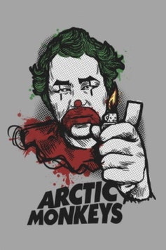 Estampa Capa Arctic Monkeys