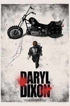 Estampa Capa Daryl Dixon