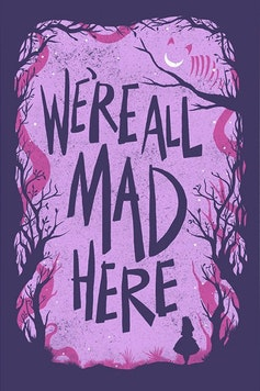 Estampa Capa Alice in Wonderland