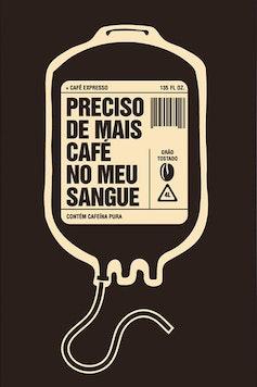 Estampa Capa Bolsa de Café