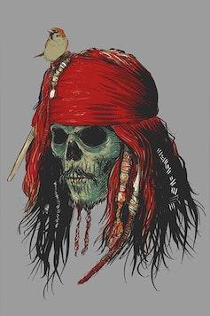 Estampa Capa Capitão Jack