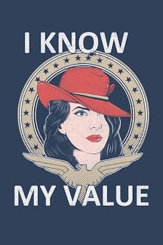 Estampa Capa I Know My Value