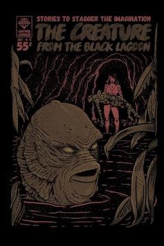 Estampa Capa Black Lagoon