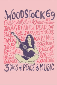 Estampa Capa Música e Paz