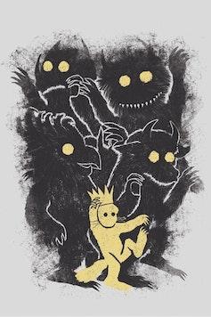 Estampa Capa Onde Vivem os Monstros