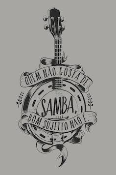Estampa Capa Samba da Minha Terra