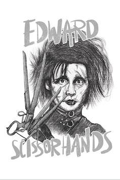 Estampa Capa Edward Scissorhands