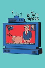 Estampa Capa The Black Mirror