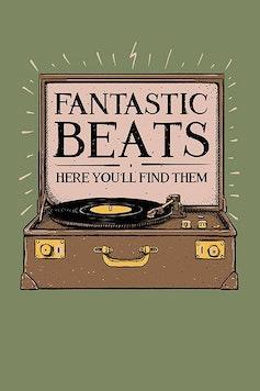 Estampa Capa Fantastic Beats