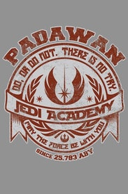 Estampa Capa Jedi Academy