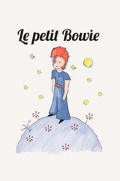 Estampa Capa Le Petit Bowie