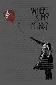 Estampa Capa Where Is My Mind?