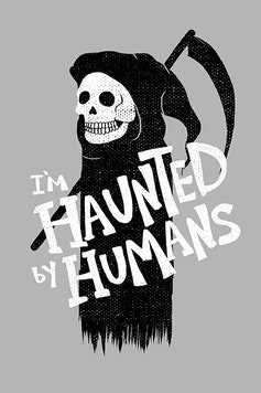 Estampa Capa Haunted By Humans