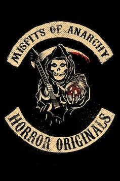 Estampa Capa Misfits of Anarchy