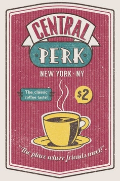 Estampa Capa Outlet Central Perk