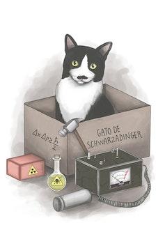 Estampa Capa Gato de Schwarzadinger