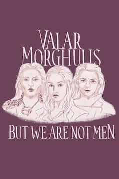 Estampa Capa Valar Morghulis