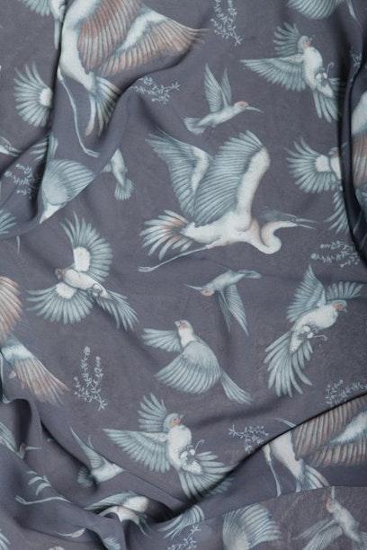 Lenço Pássaros