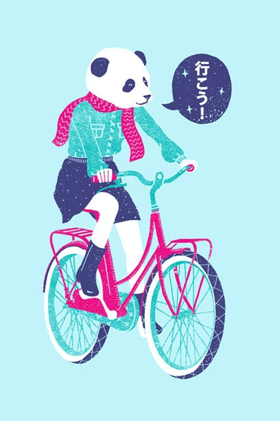 Manga Longa Panda Bike