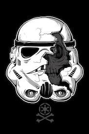 Estampa Manga Longa Stormtrooper