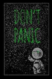 Estampa Manga Longa Don't Panic