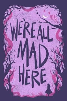 Estampa Manga Longa Alice In Wonderland