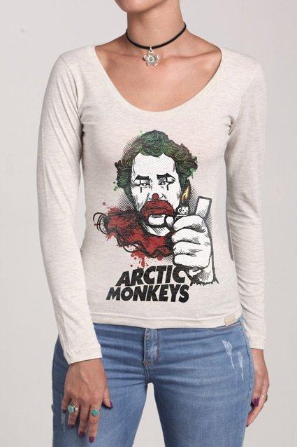 Manga Longa Arctic Monkeys